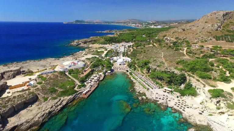 Rhodes island beaches